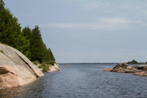 Bustard Island anchorage 7-4-6