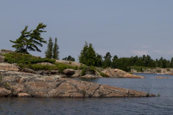 Bustard Island anchorage 7-4-9