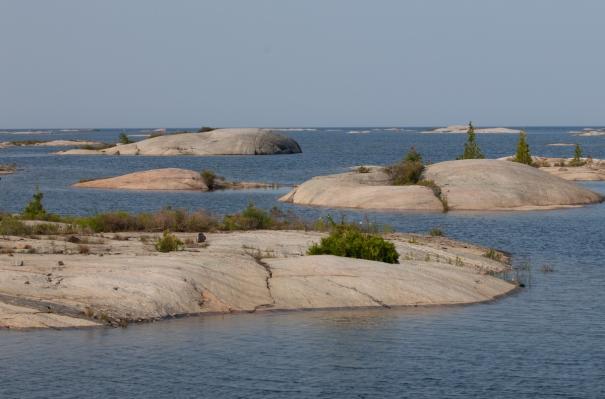 bustard islands to anchorage near point au baril